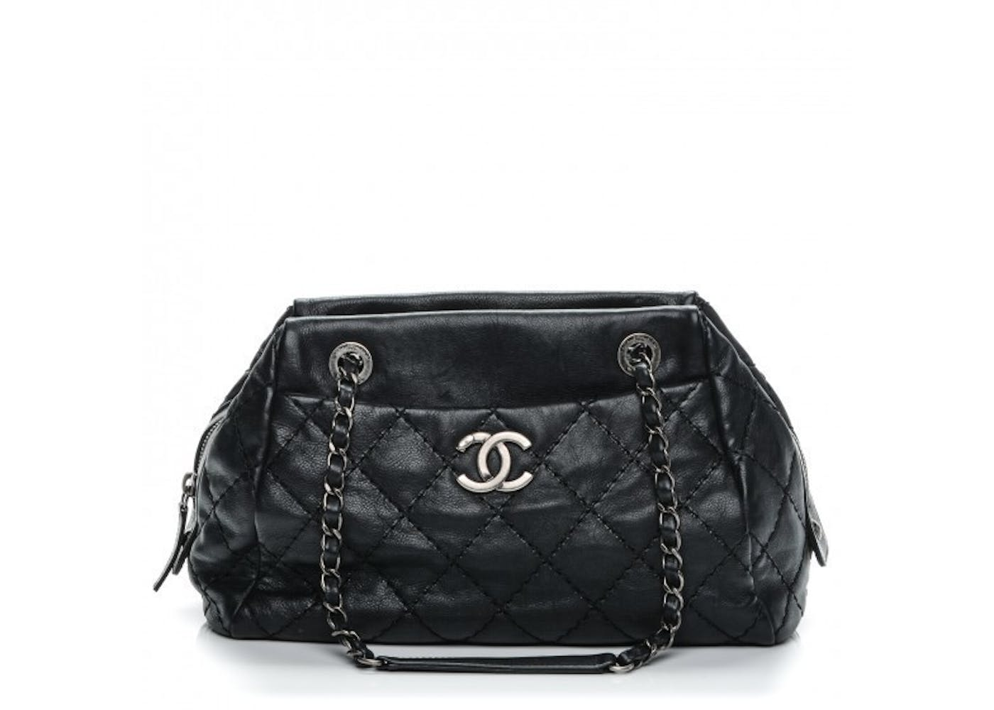 Tote Stitch It Quilted Small Black : chanel quilted small bag - Adamdwight.com