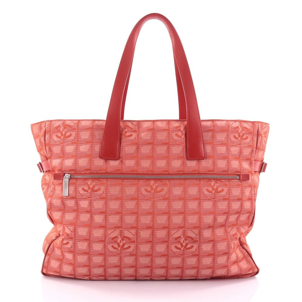Chanel Travel Line Tote XL Lightweight Red