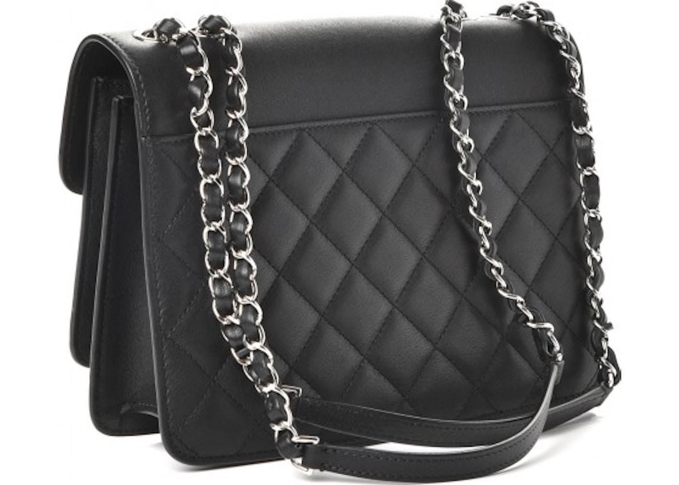 d9135e5f2d46 Chanel Urban Companion Flap Quilted Diamond Mini Black
