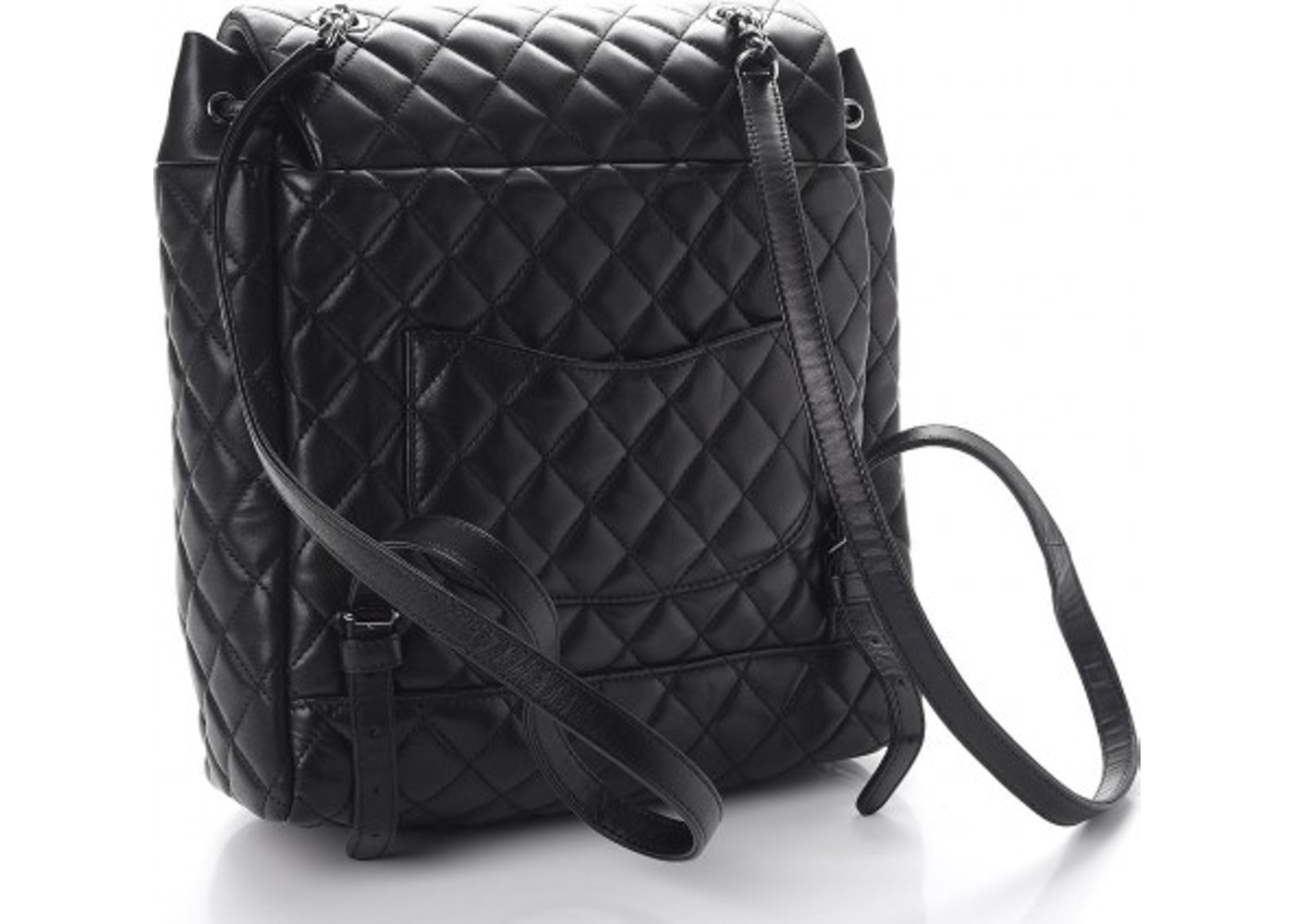 1c07e3062510 Sell. or Ask. View All Bids. Chanel Urban Spirit Backpack Quilted Calfskin  Ruthenium-tone Large Black