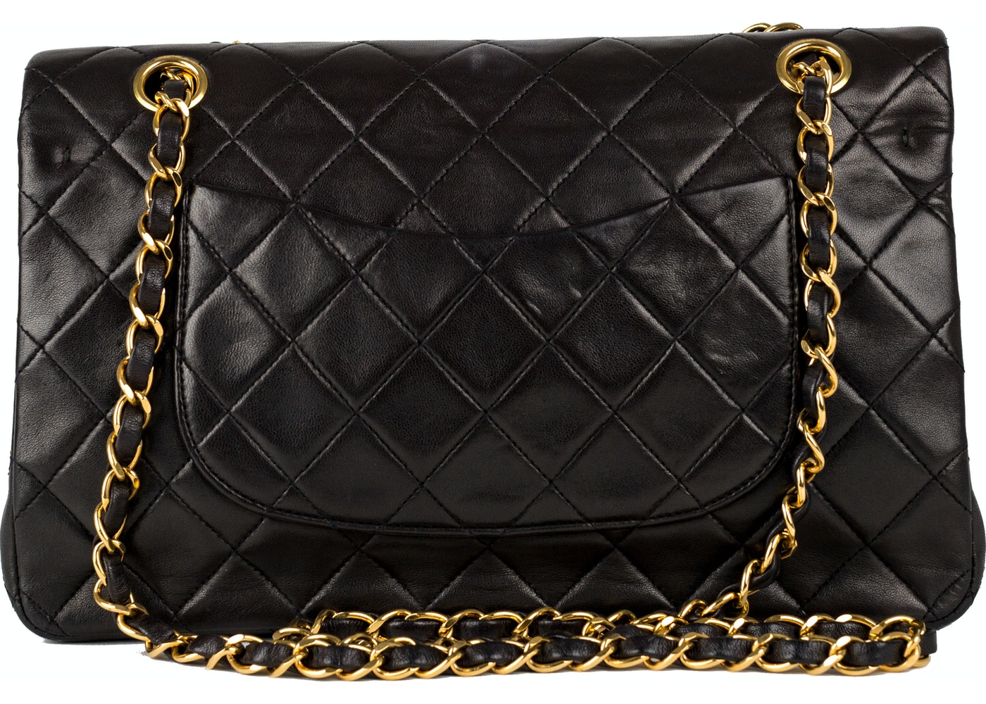 9fb01d9b72ce Sell. or Ask. View All Bids. Chanel Vintage Classic Double Flap Quilted  Medium Black