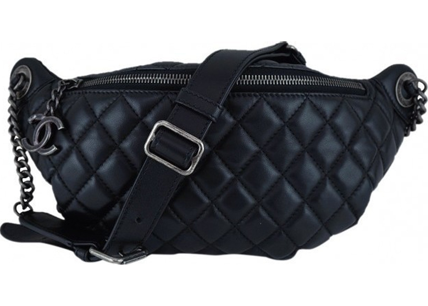 118c7d991cf4 Sell. or Ask. View All Bids. Chanel Waist Bag Quilted Black