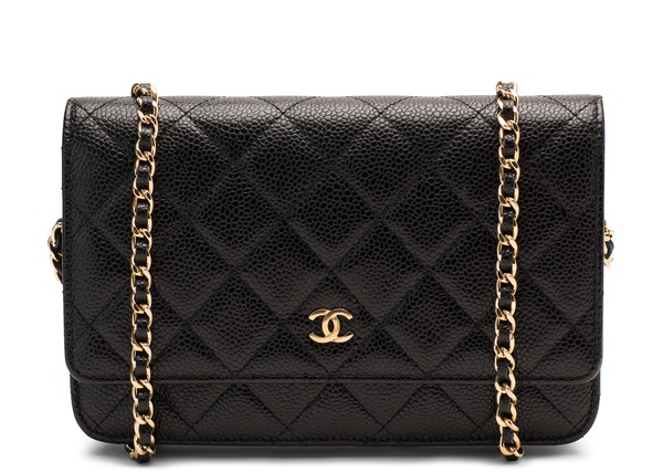 Chanel Wallet On Chain Quilted Black 4f72080ac178