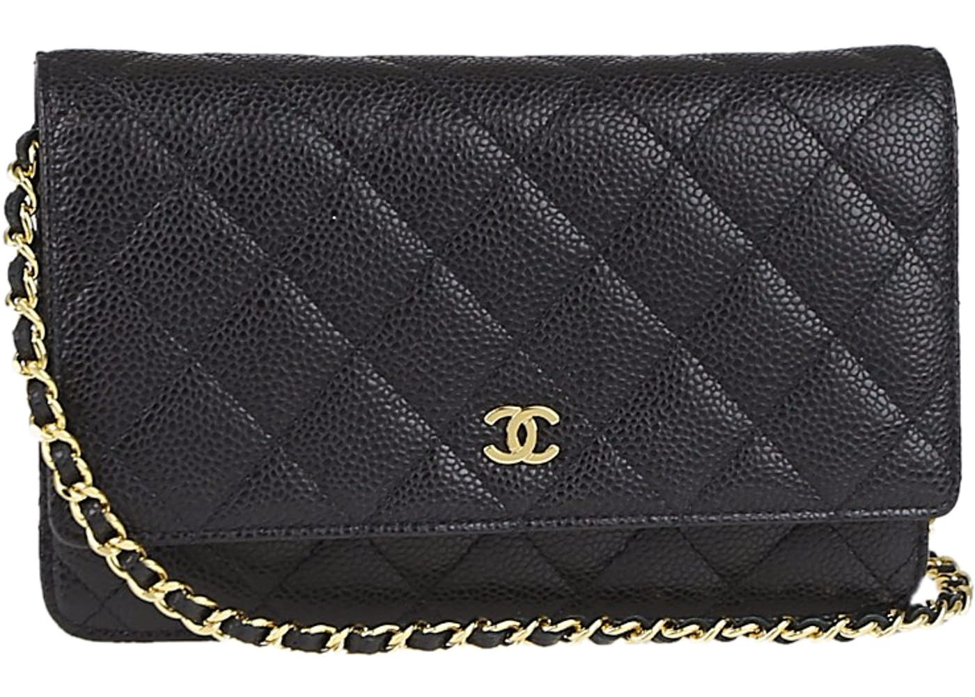 776c63818ba2 Chanel Wallet On Chain Quilted Black