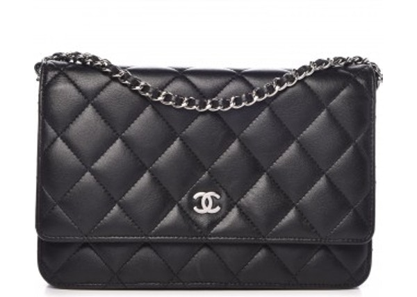 98d584ca464c Chanel Wallet On Chain Quilted Black