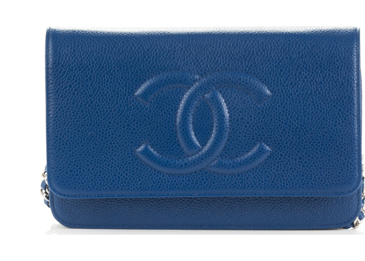 dcbad8904f99 Sell. or Ask. View All Bids. Chanel Timeless CC Wallet On Chain Blue