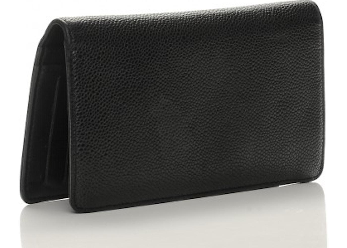 613e264dc78193 Chanel Timeless CC Yen Wallet Black