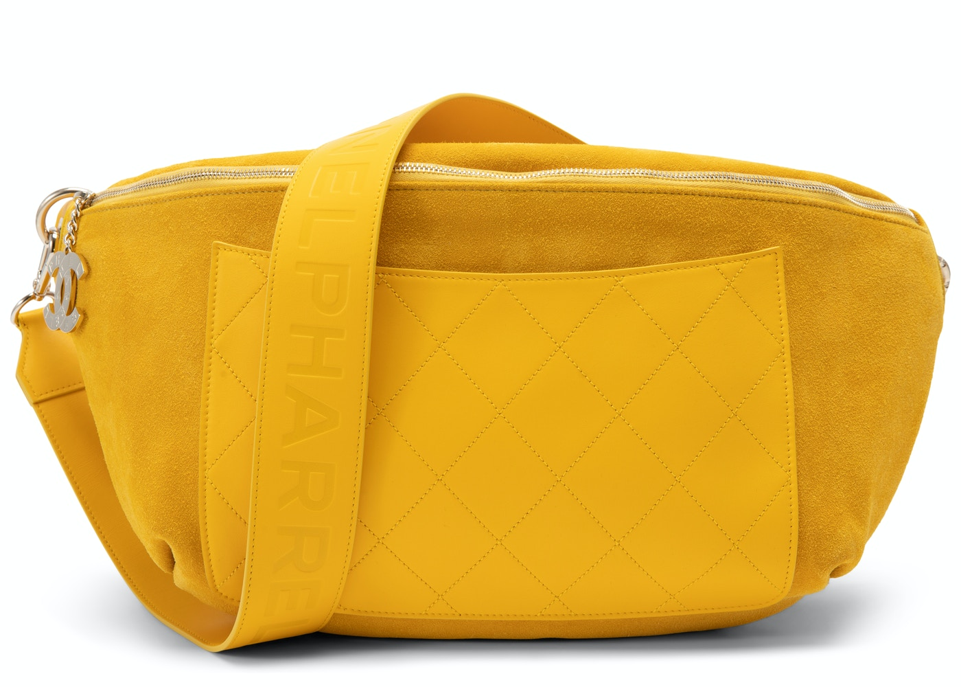 726ad3391e7 Sell. or Ask. View All Bids. Chanel x Pharrell Waist Bag Yellow