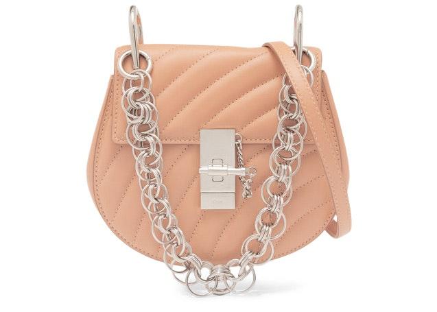 Chloe Drew Bijou Crossbody Mini Blushy Pink