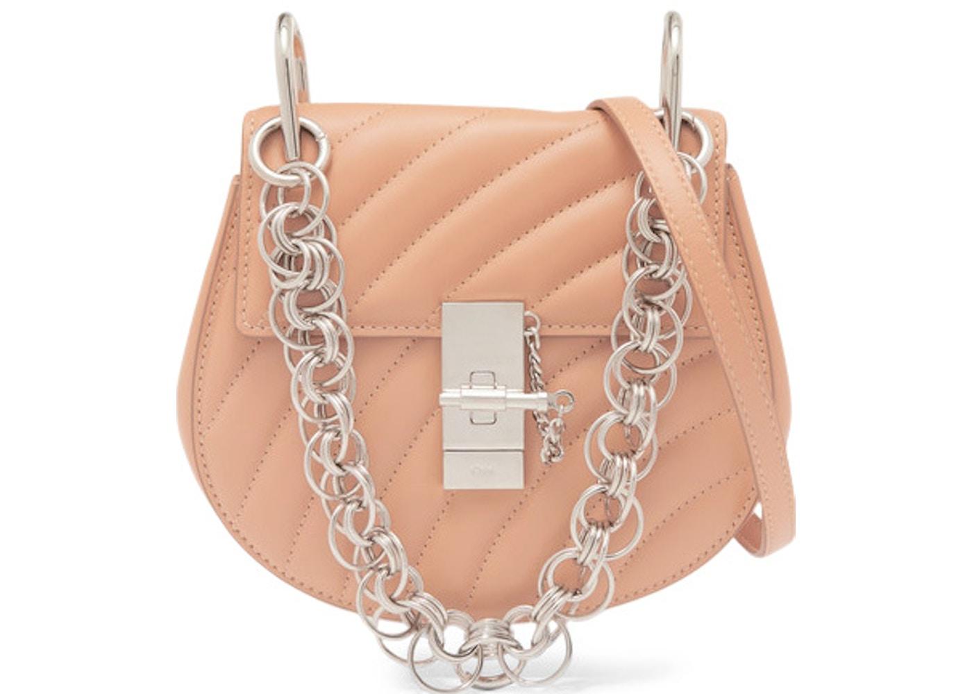 0cd11c3fb4 Chloe Drew Bijou Crossbody Mini Blushy Pink