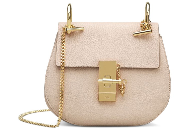 Chloe Drew Crossbody Mini Cement Pink
