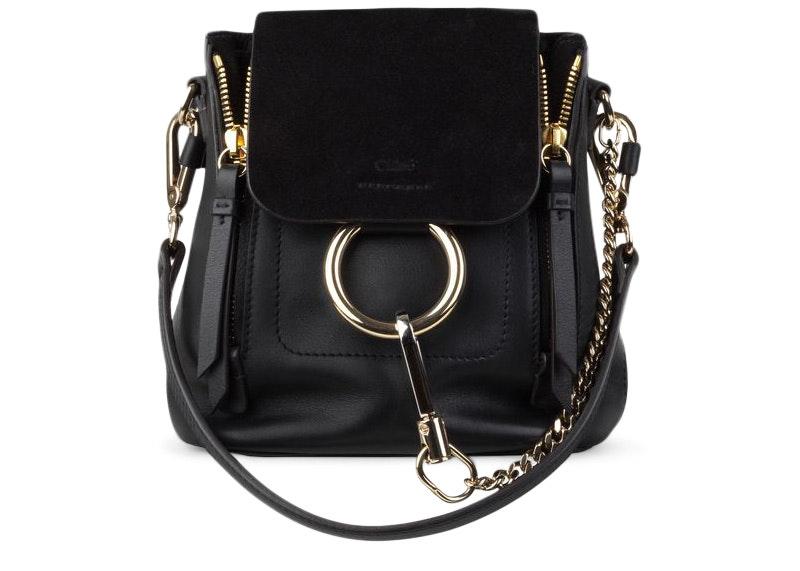 Chloe Faye Backpack Mini Black