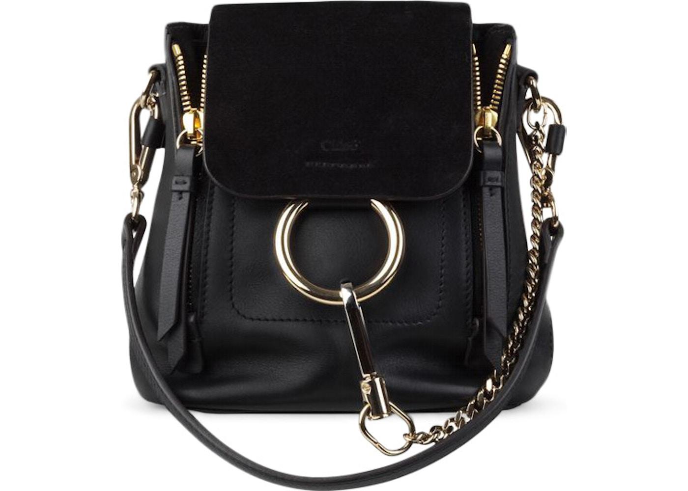 126a957ff Chloe Faye Backpack Mini Black. Mini Black