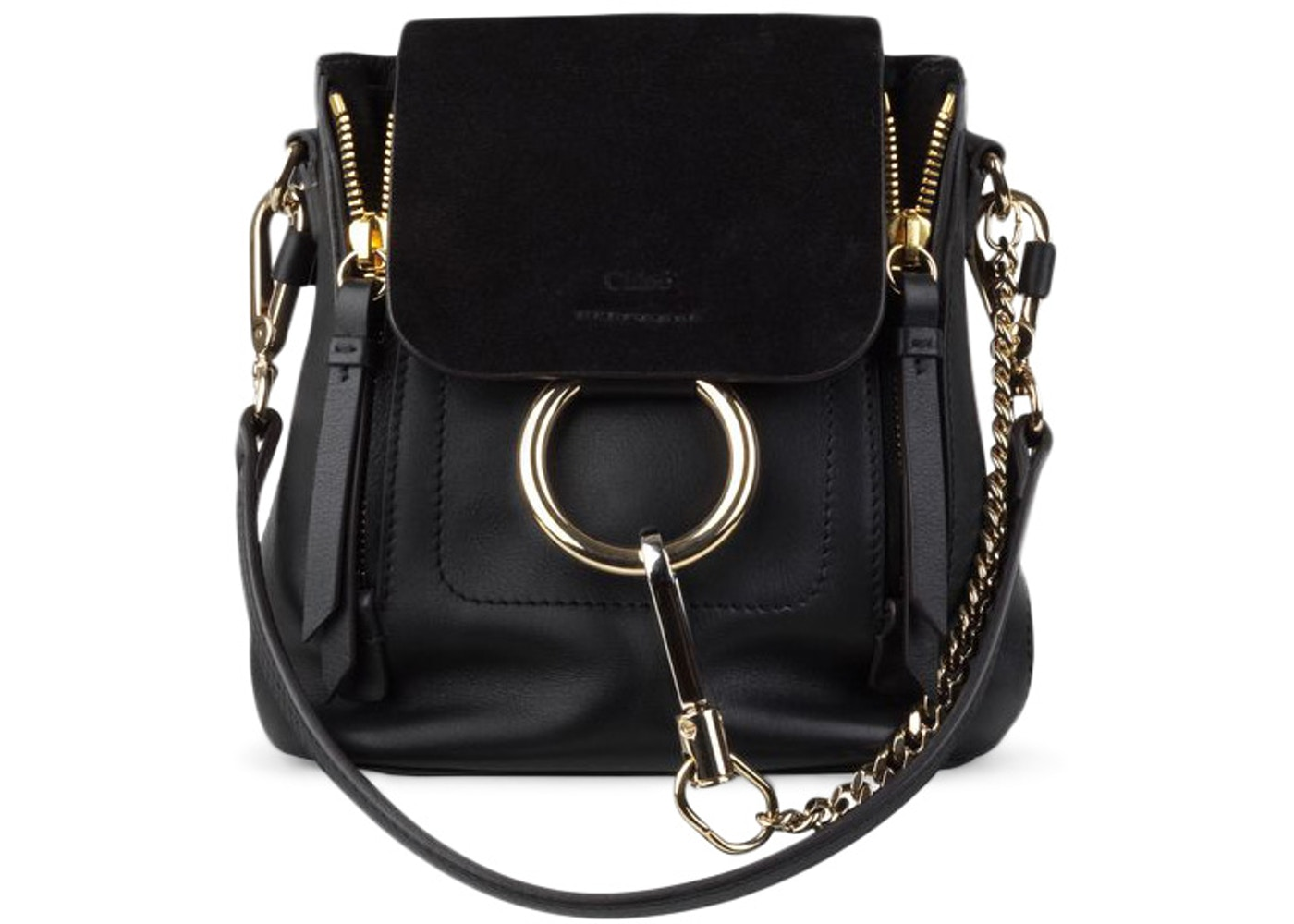 7faffaa6f0 Chloe Faye Backpack Mini Black