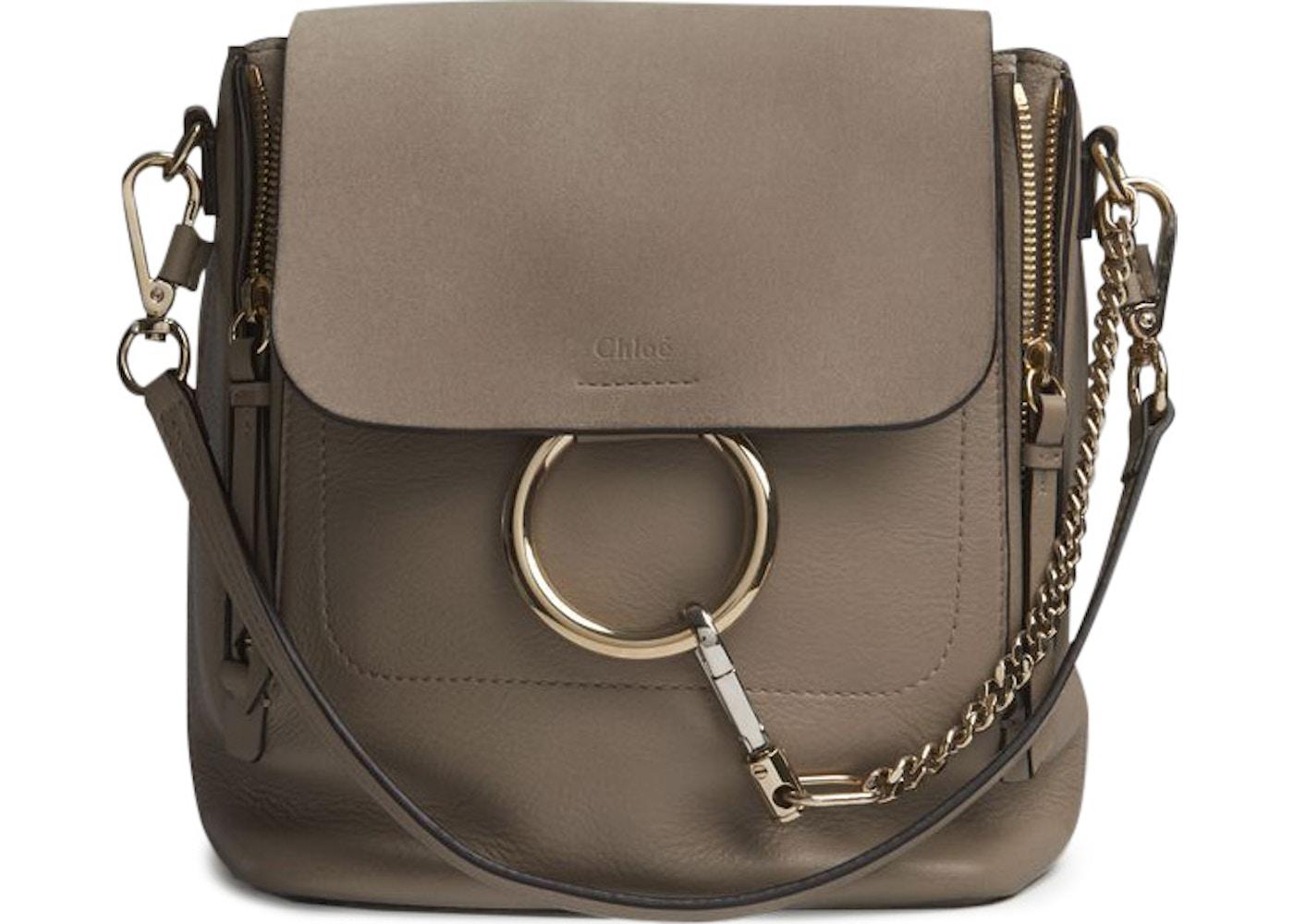 5646e90e5 Chloe Faye Backpack Small Motty Grey. Small Motty Grey