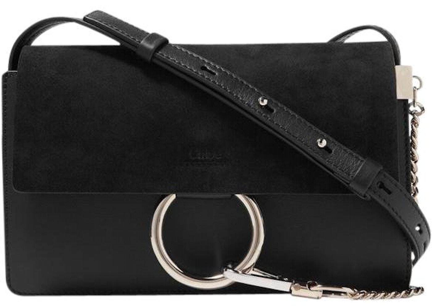 658868fae6 Chloe Faye Shoulder Bag Small Black