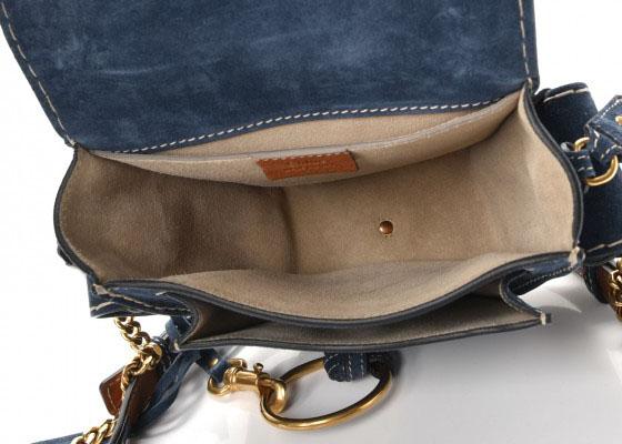 Small Leather Blue Small Handbag Navy wOnk80P