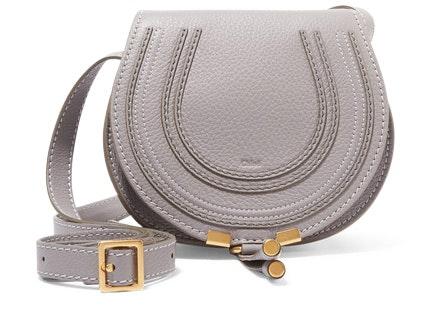 Chloe Marcie Crossbody Mini Cashmere Grey