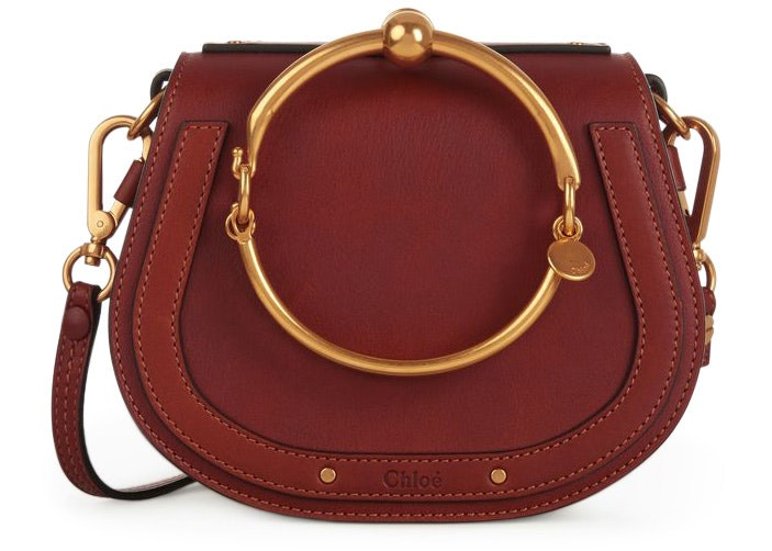 Chloe Nile Bracelet Small Sienna Red