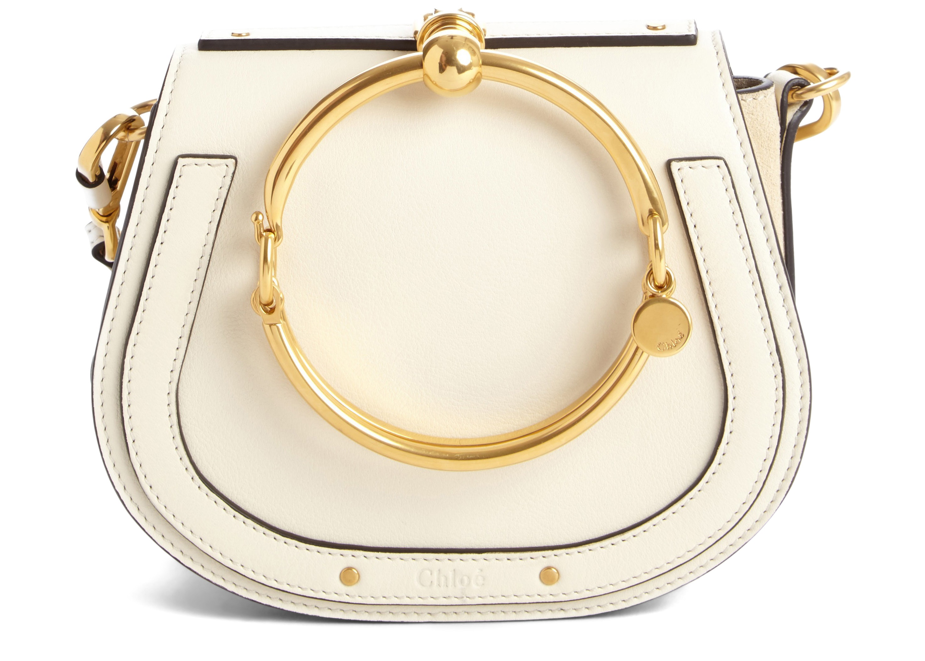 Chloe Nile Crossbody Bracelet Small Off White