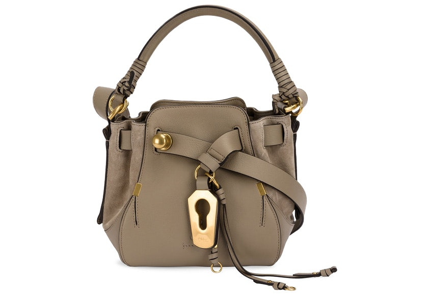 Chloe Owen Crossbody Small Motty Grey