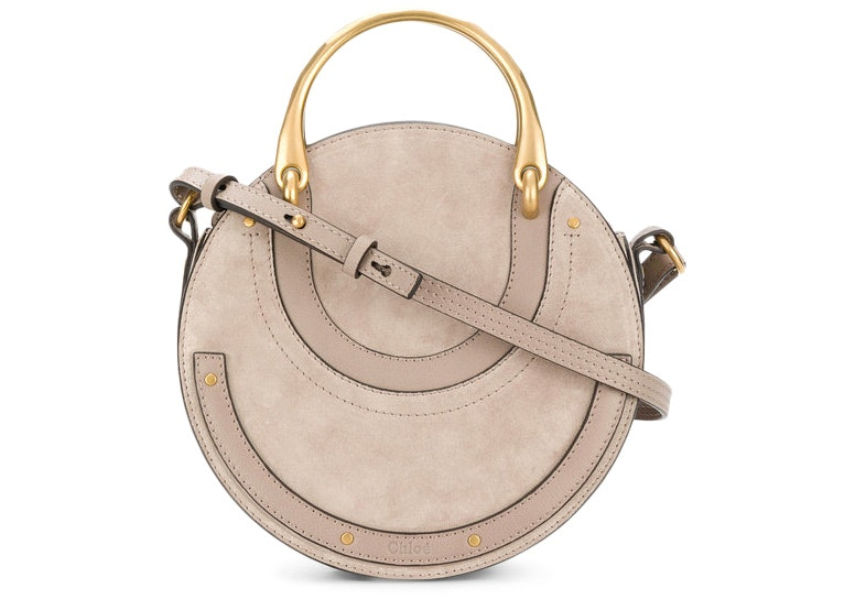 Chloe Pixie Crossbody Small Motty Grey