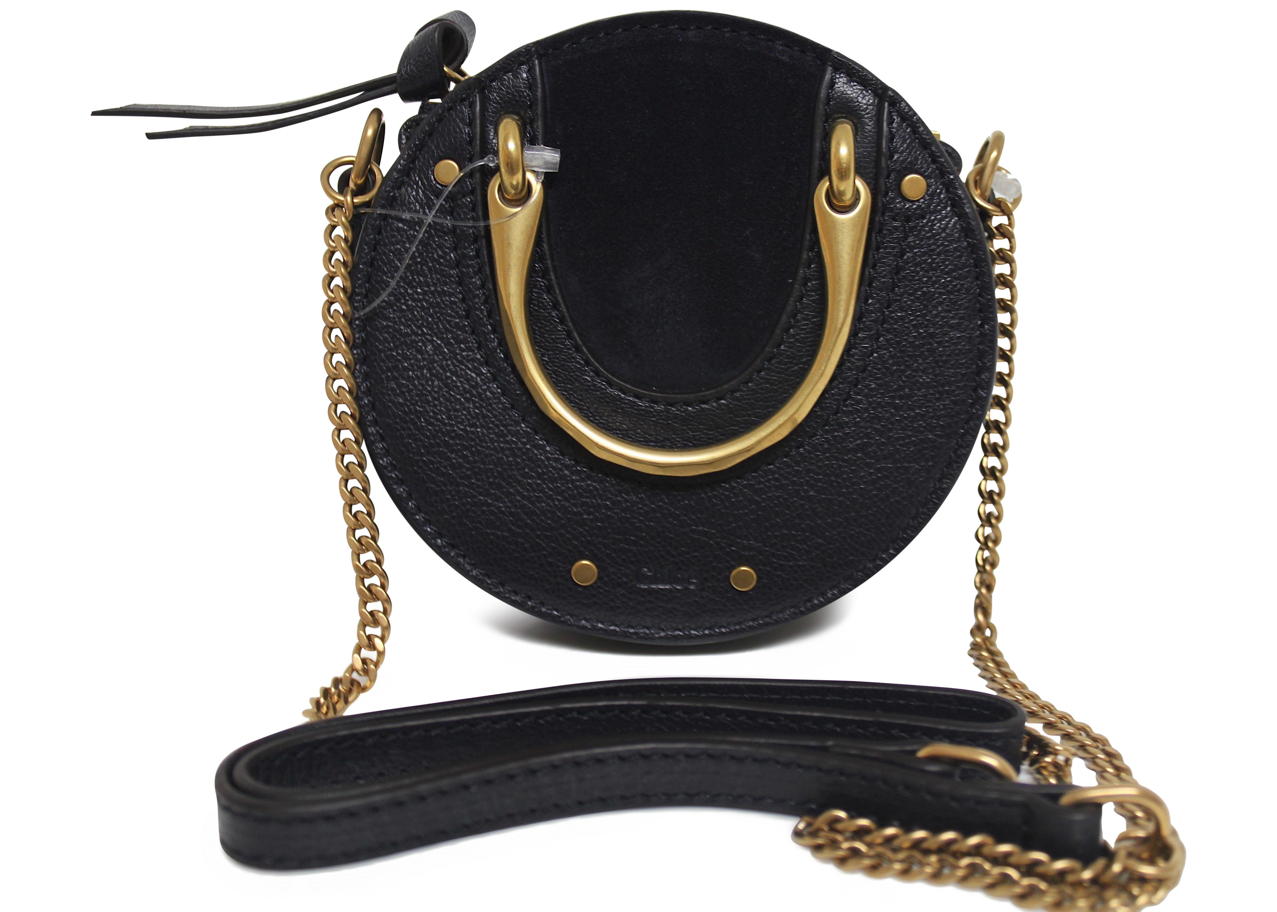 Chloe Pixie Shoulder Bag Mini Navy