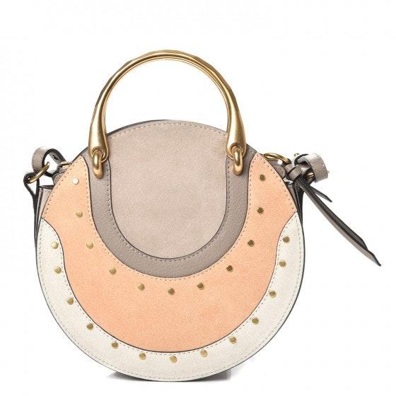 Chloe Pixie Small Motty Grey/Peach/Ivory