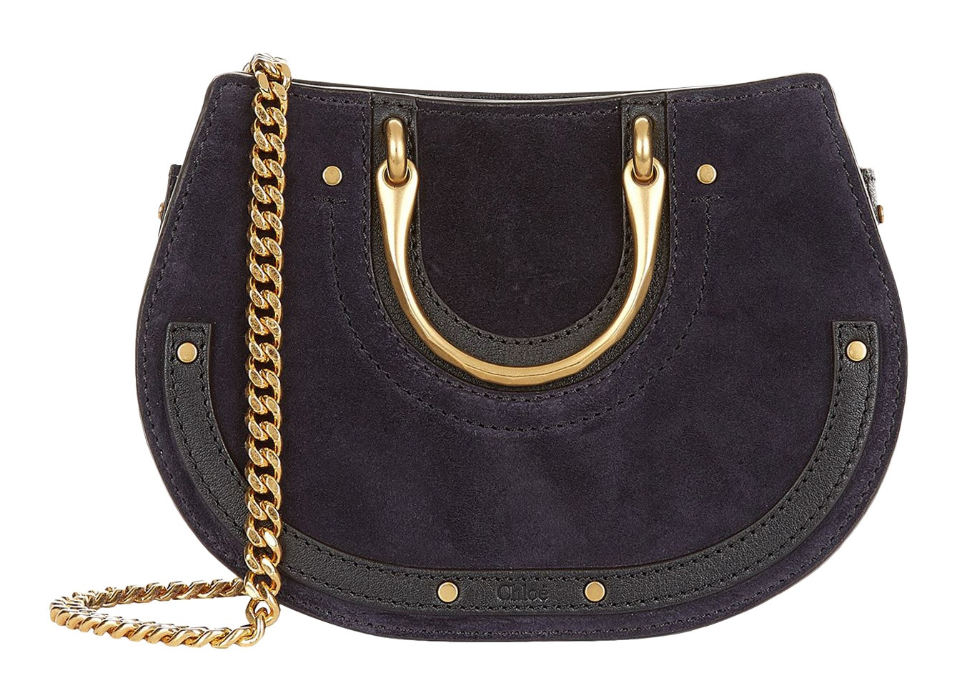 Chloe Pixie Waist Bag Mini Full Blue
