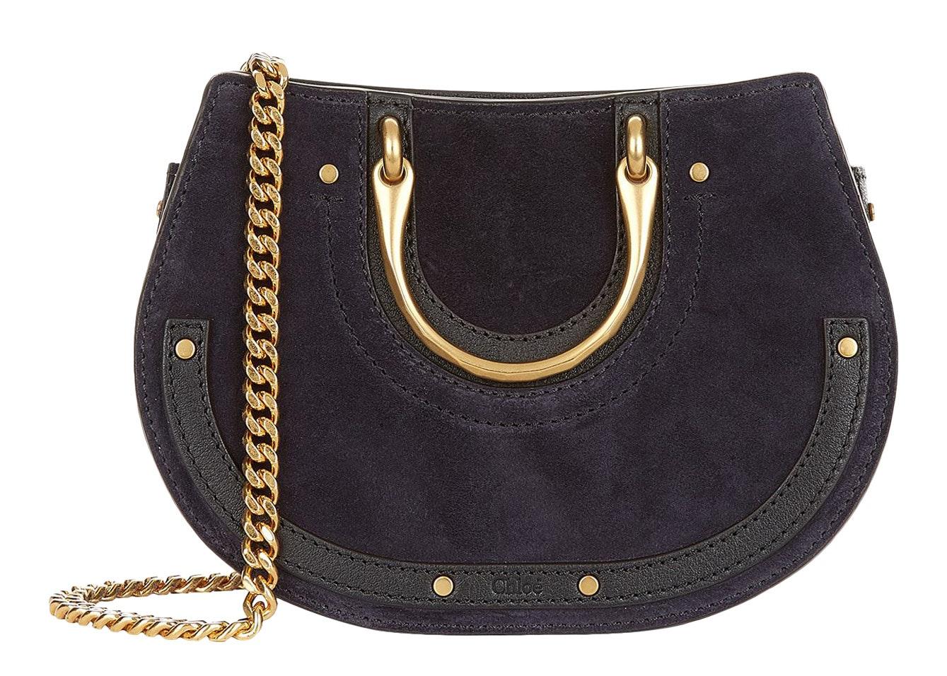Chloe Pixie Waist Bag Mini Full Blue