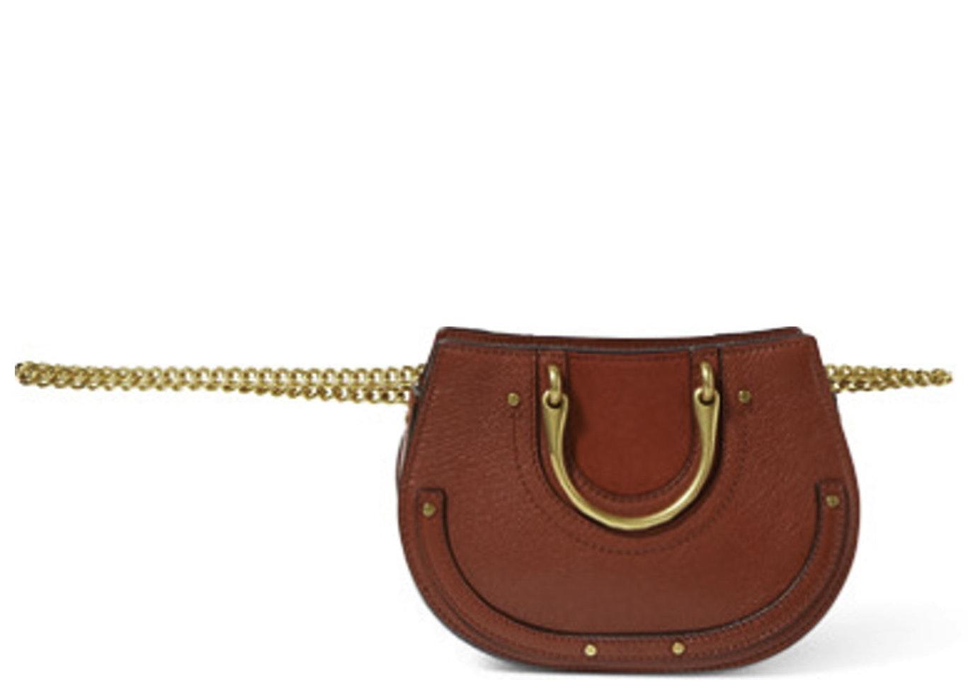 Chloe Pixie Waist Bag Mini Red