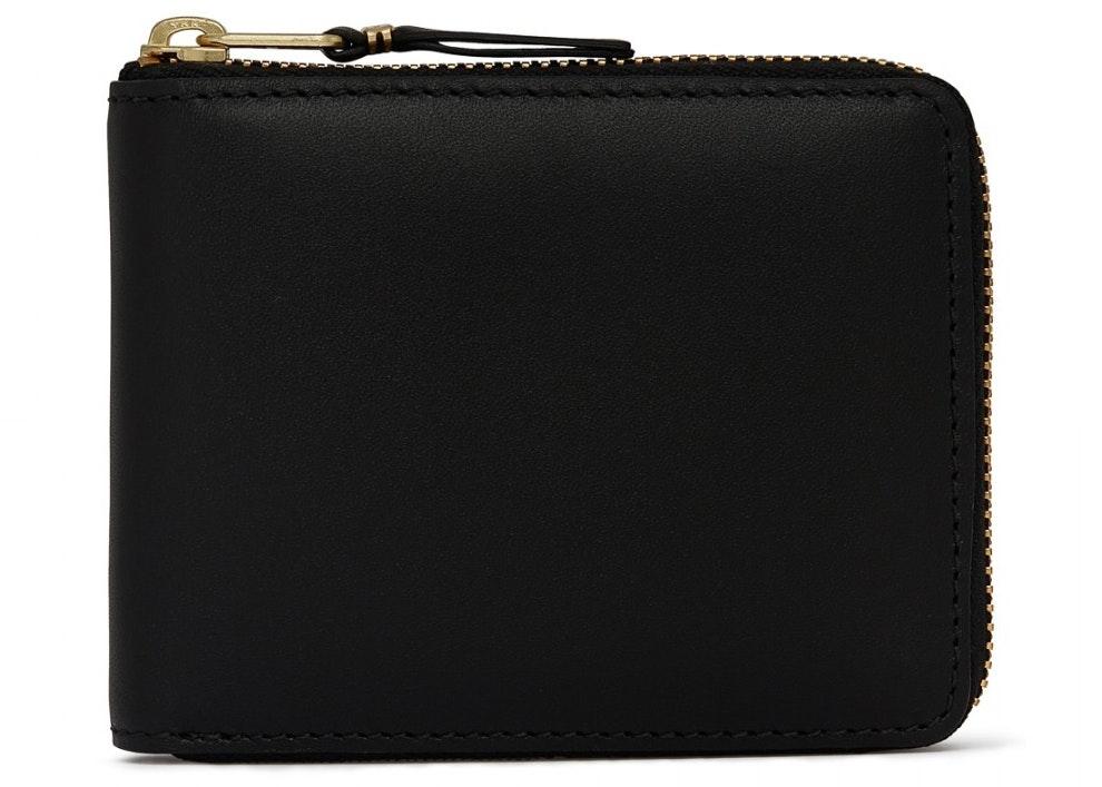 Comme des Garcons SA7100 Classic Plain Wallet Black