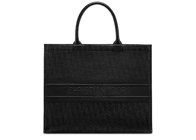 Dior Book Tote Oblique Black