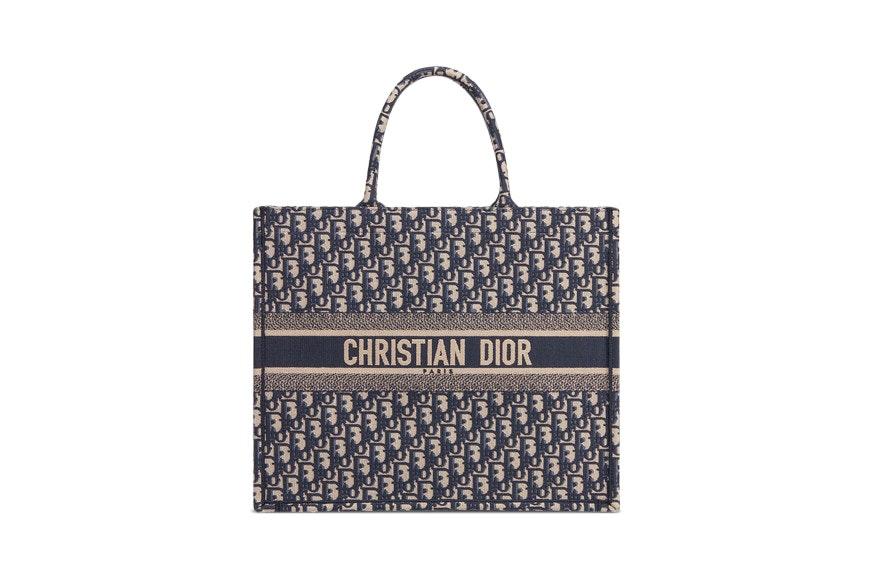 Dior Book Tote Oblique Navy Blue