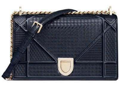 Dior Diorama Shoulder Bag Blue