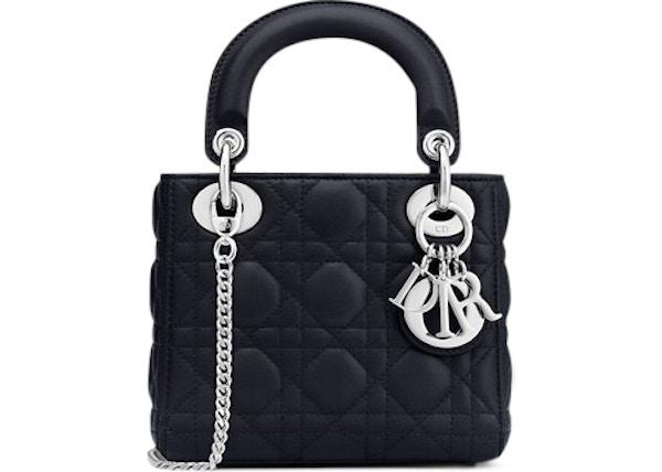 Dior Lady Dior Lambskin Mini Blue