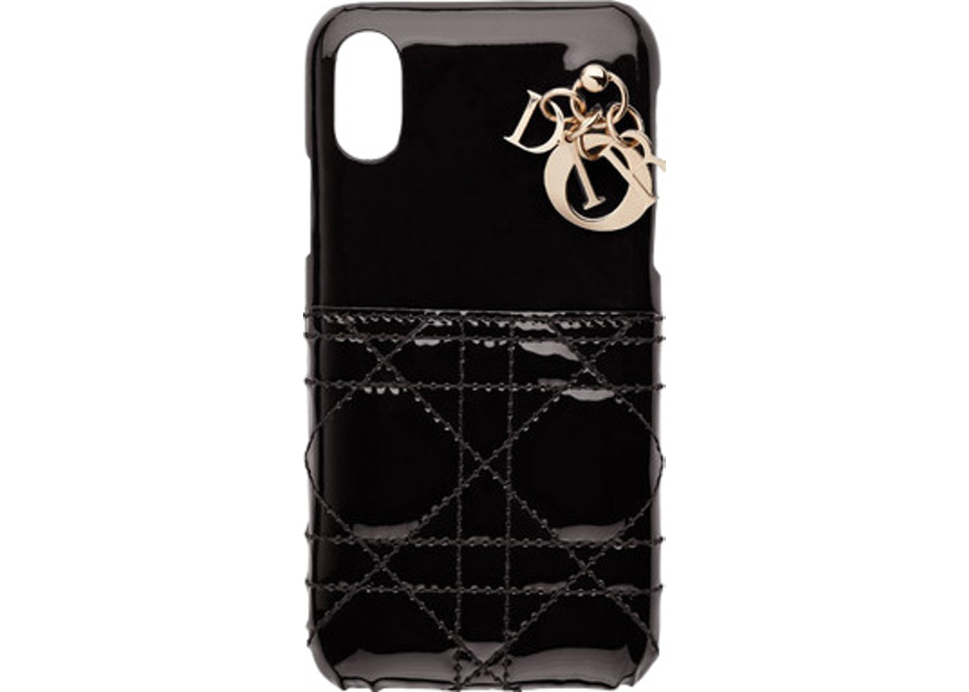 the best attitude 3bc8e cadb0 Dior Lady Dior iPhone Case X Black