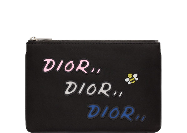 Dior x Kaws Pouch Nylon Black
