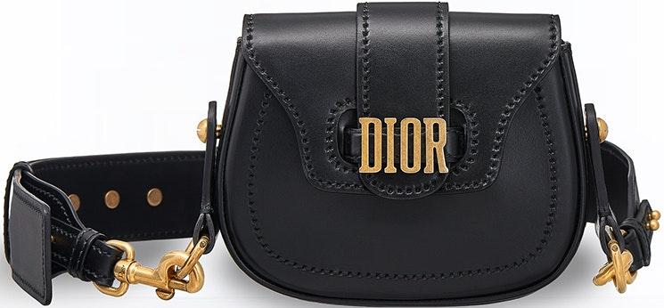 Dior Saddle Bag D Fence Mini Black