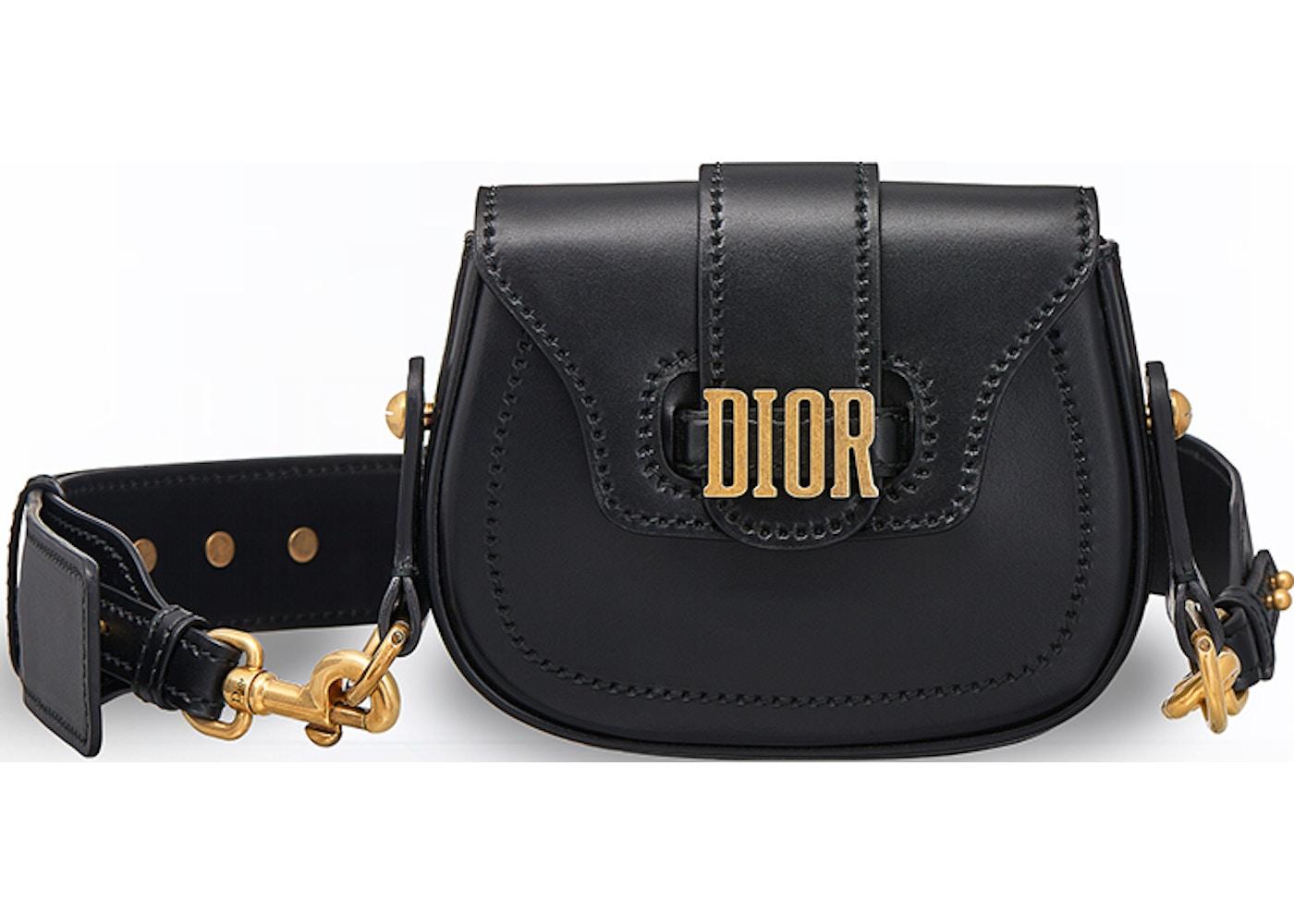 Dior D Fence Shoulder Bag Mini Black 7d09b1a9e9c1d