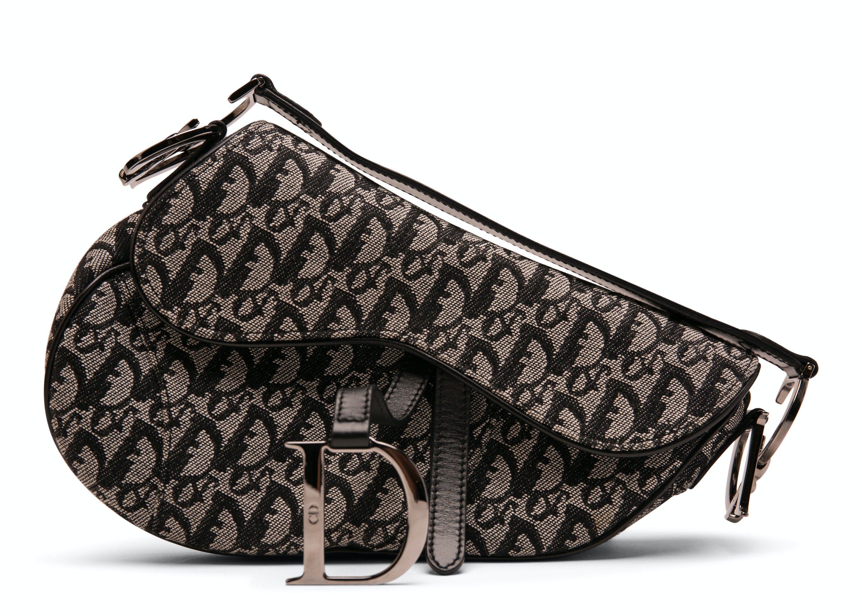 Dior Saddle Bag Monogram Black