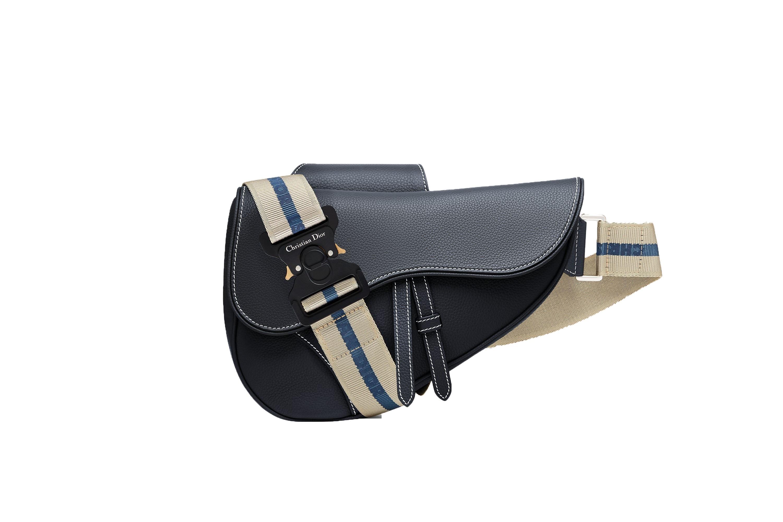 Dior Saddle Bag Navy Blue