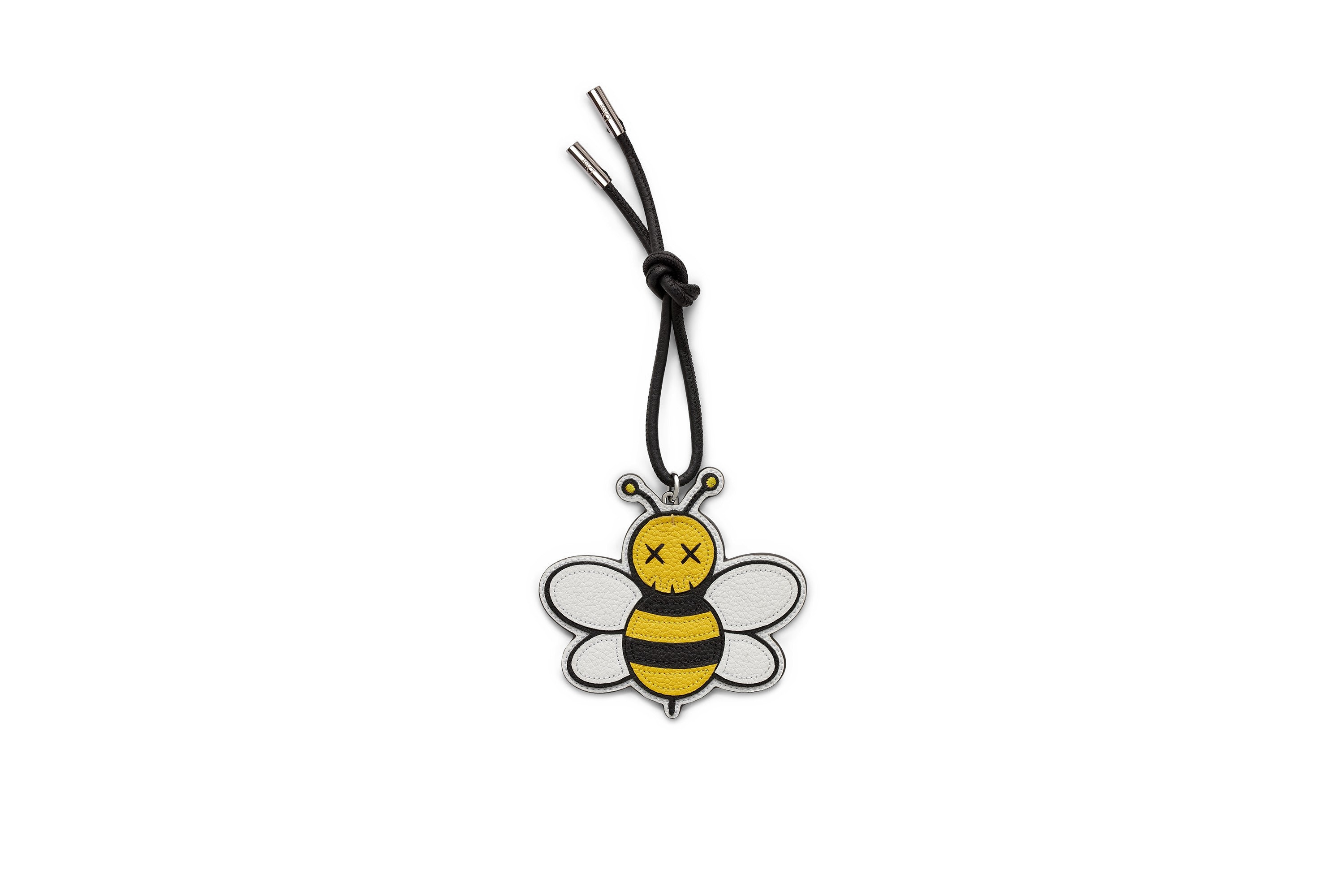 Dior x Kaws Bee Charm Yellow