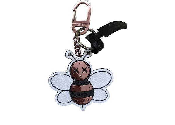 Dior x Kaws Bee Key Ring Pink