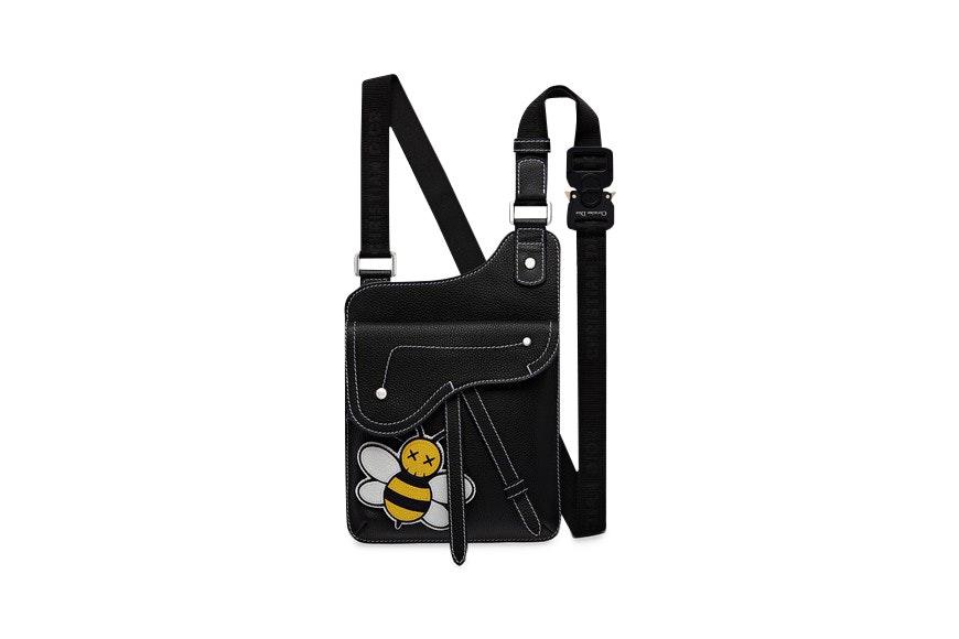 Dior x Kaws Messenger Bag Black