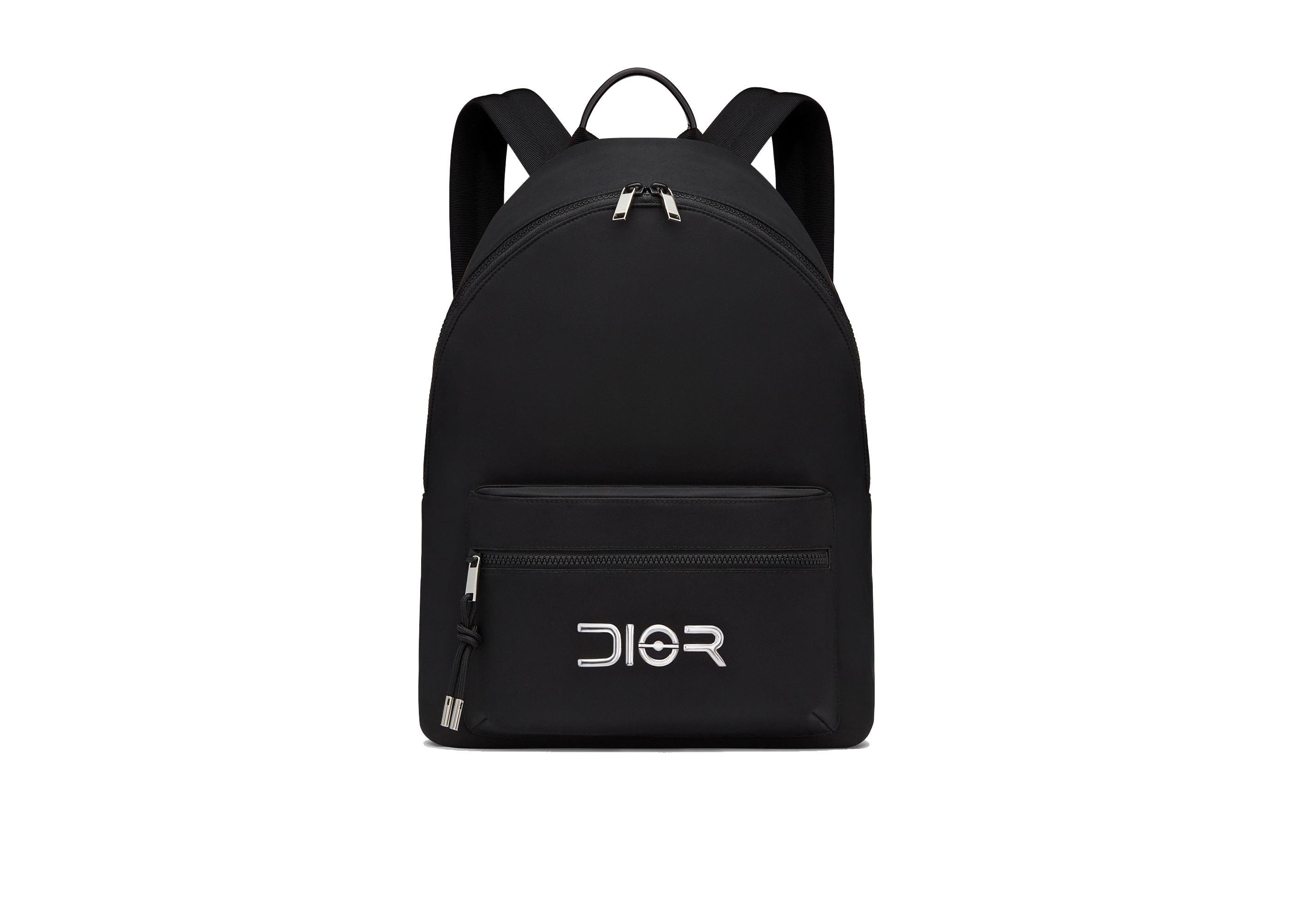 Dior x Sorayama Backpack Nylon Black