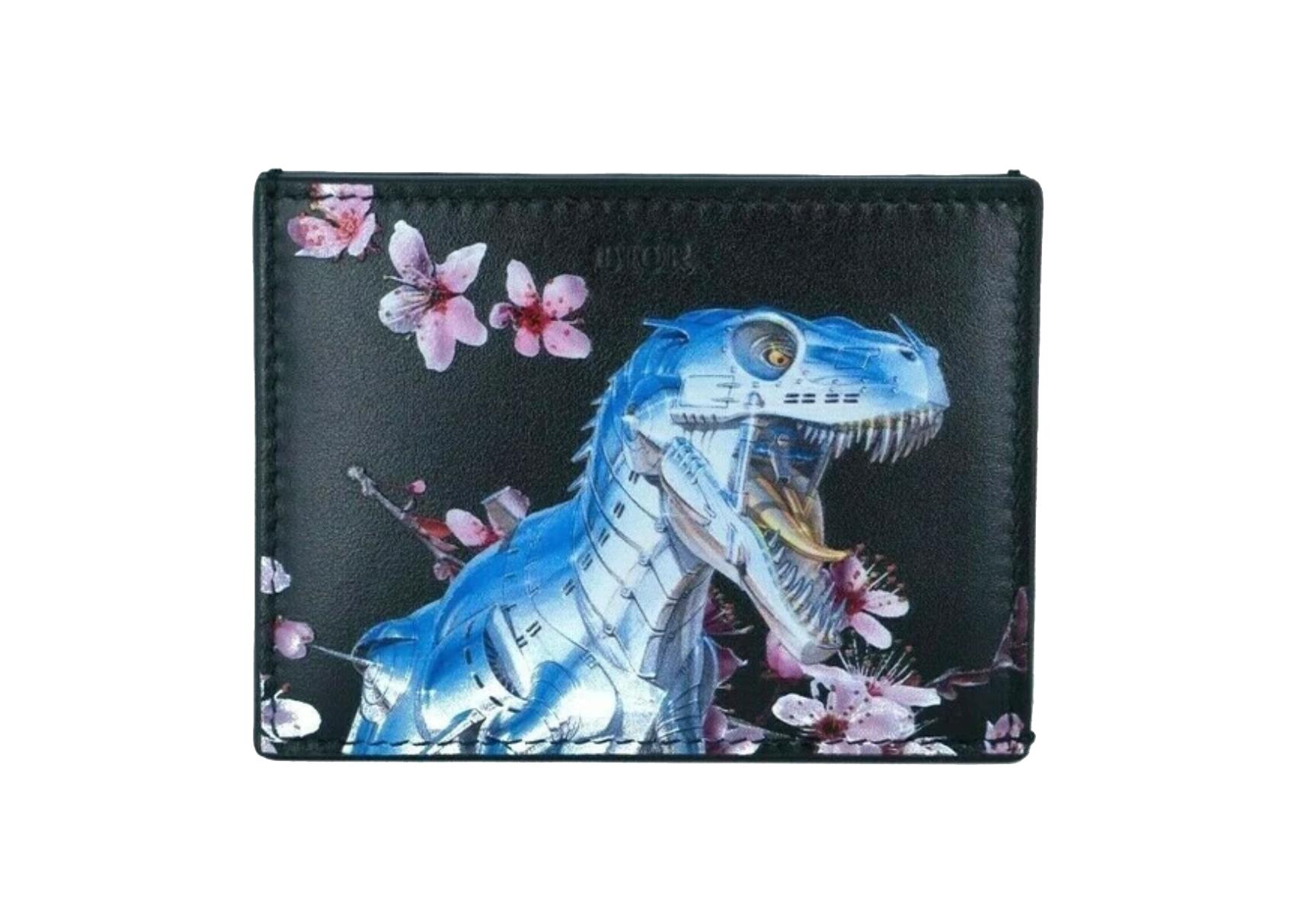 Dior x Sorayama Card Holder Black