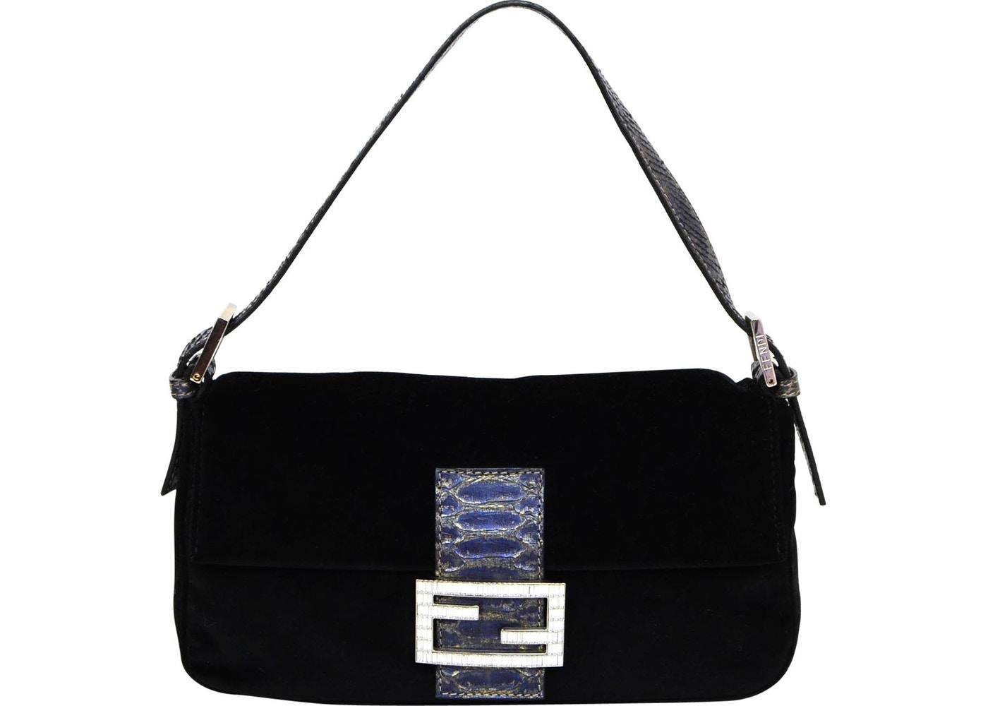 Fendi Baguette Shoulder Bag Black. Black c79782417a3