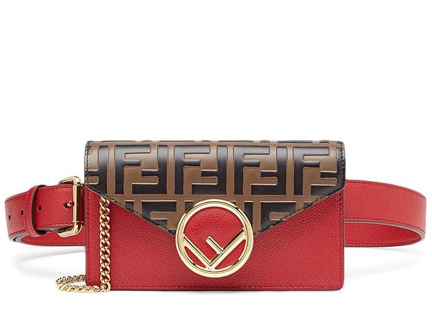 Fendi Belt Bag FF Red