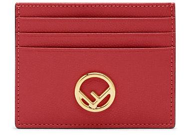Fendi Card Holder Red